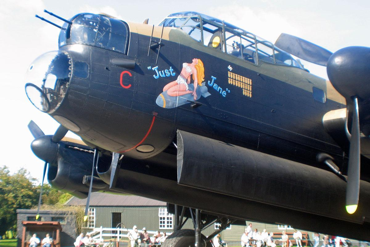 Just Jane Lancaster Bomber